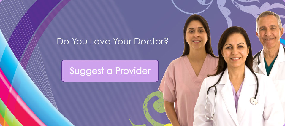 Suggest A Provider
